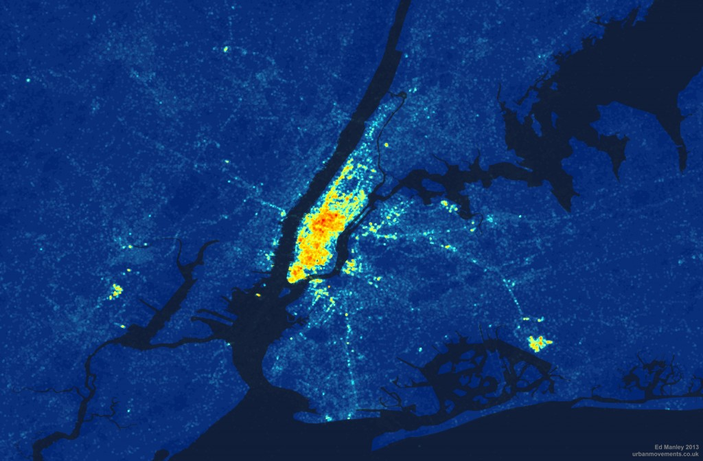 Analysing Languages in the New York Twittersphere